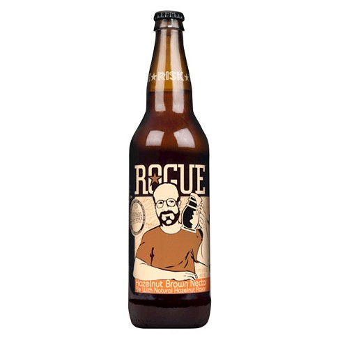 Rogue® Hazelnut brown Nectar Ale - 22oz Bottle - image 1 of 1