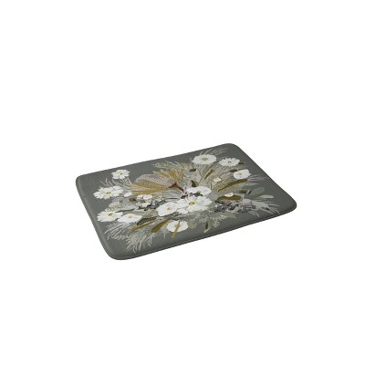 Iveta Abolina Aspen Sage Bath Mat Green - Deny Designs