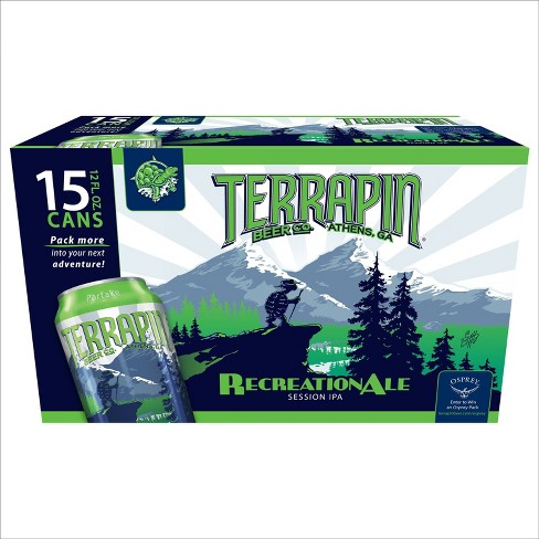 Terrapin RecreationAle Session IPA Beer - 15pk/12 fl oz Cans - image 1 of 4