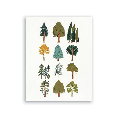 Clementine Kids Forest Trees Art
