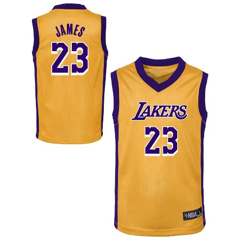 NBA Los Angeles Lakers Toddler Boys' LeBron James Jersey - image 1 of 3