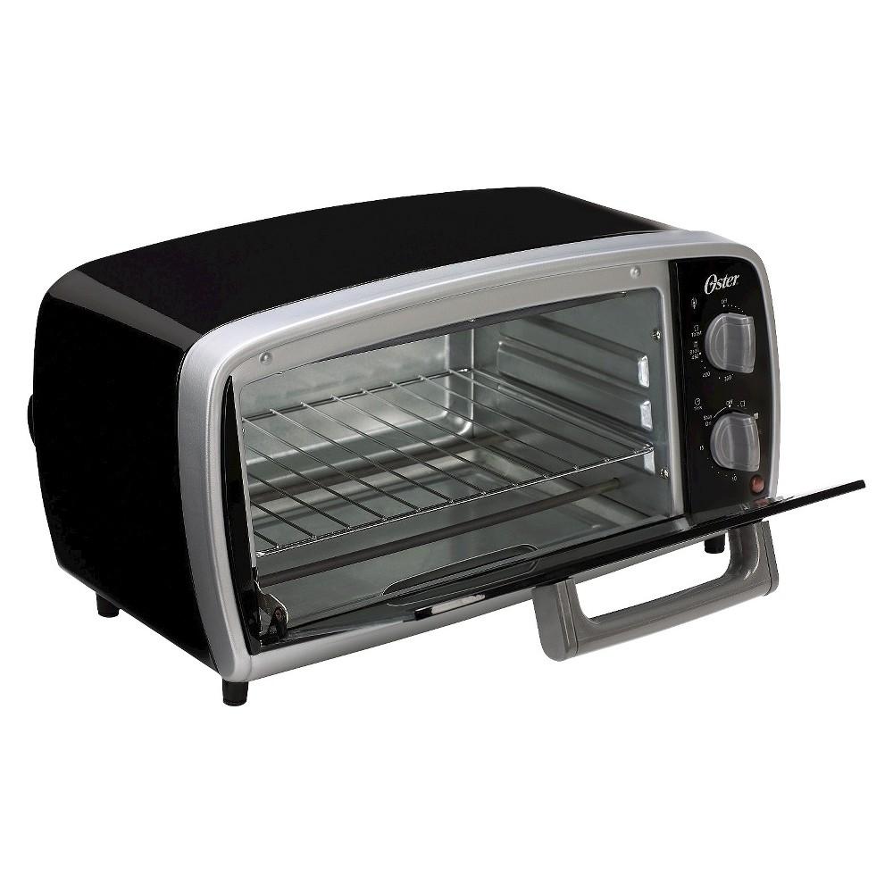 Oster 4-Slice Toaster Oven, Black, TSSTTVVG01