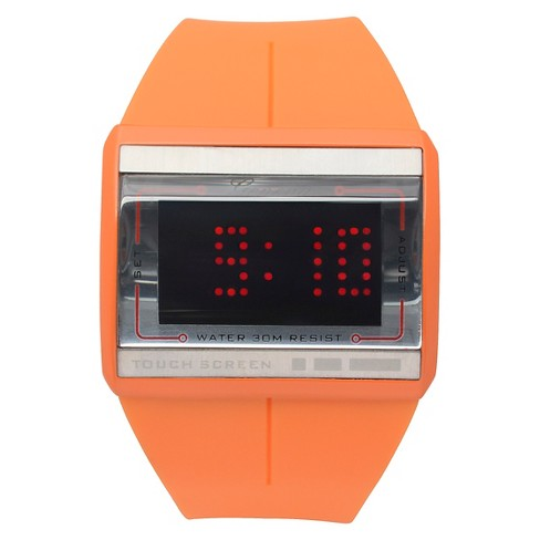 Men's Geneva Platinum Touch Screen Silicone Band Watch - image 1 of 3