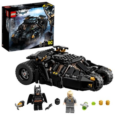LEGO Super Heroes DC Comics Batman Batmobile Tumbler Scarecrow Showdown 76239 Building Kit
