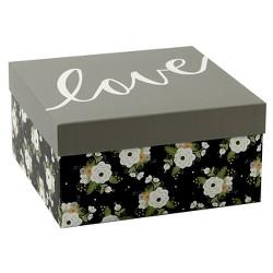 Floral Gift Box Black - Spritz™