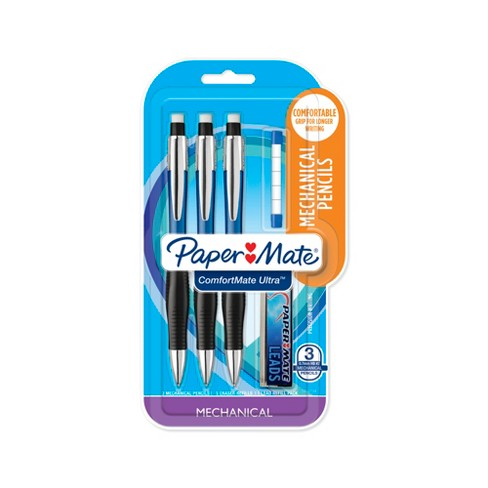 Paper Mate® Comfortmate Ultra Mechanical Pencil 0.7mm 3ct Starter Set - image 1 of 7
