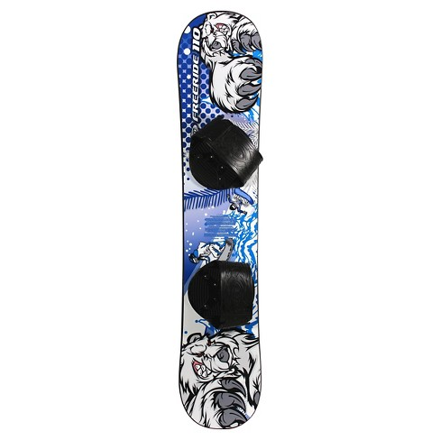 Emsco® Snowboard with Step in Binding - 110cm - image 1 of 1