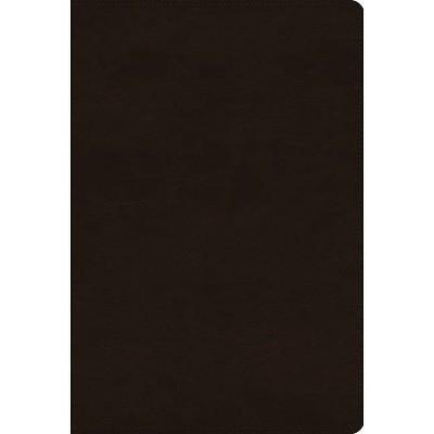 ESV Women's Study Bible (Trutone, Deep Brown) - (Leather Bound)