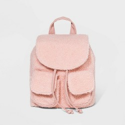 Drawstring Tab Closure Backpack - Wild Fable™ Blush