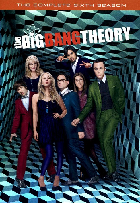 The Big Bang Theory: The Complete Sixth Season (3 Discs) (Widescreen) - image 1 of 1