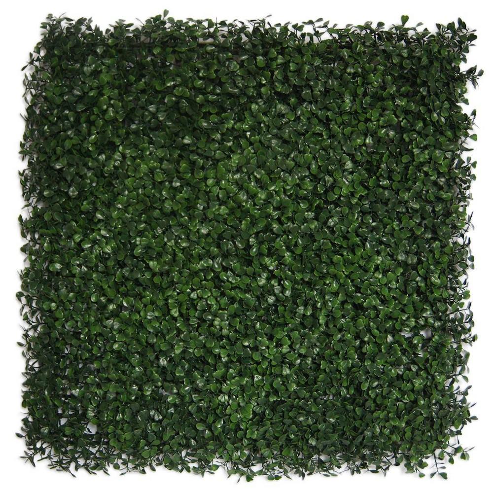 Image of Greensmart Decor Artificial Ficus Panel Set of 4 - Green