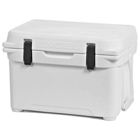 Engel 5.2 Gallon Portable Roto-Molded Ice Cooler 24 Can Capacity, White - image 1 of 4