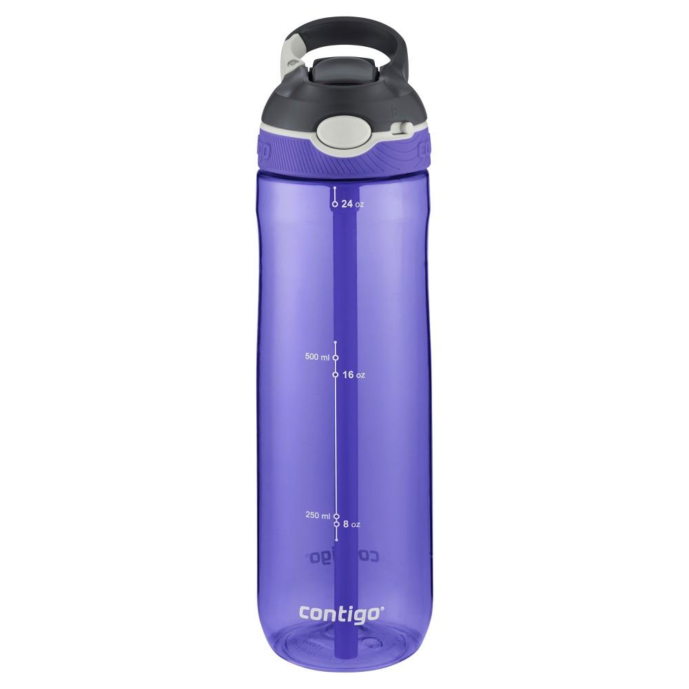 Image of Contigo 24oz Autospout Straw Ashland Hydration Bottle Grapevine