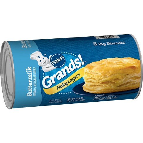Pillsbury Grands! Flaky Layers Buttermilk Biscuit - 16.3oz/8ct - image 1 of 3