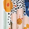 Exploded Graphic Shower Curtain - Room Essentials™ - image 2 of 2