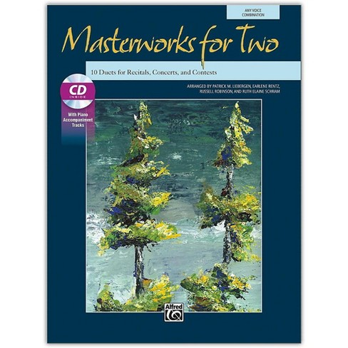 Alfred Masterworks for Two Book & Acc. CD Junior High, High School & Adult - image 1 of 1