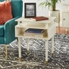 Margo Antique End Table White - Buylateral - image 2 of 4