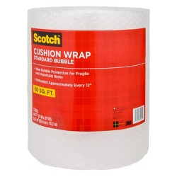 "Scotch Bubble Cushion Wrap 12"" x 60'"