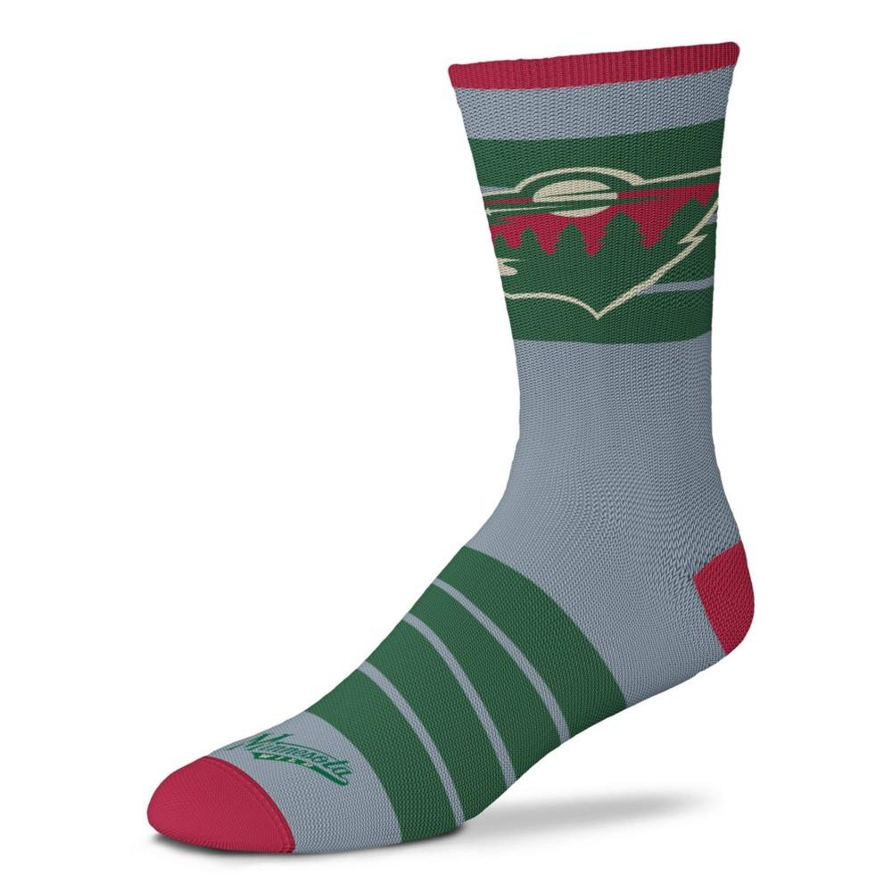 Nhl Minnesota Wild Quad Socks M