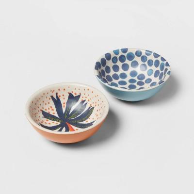 4.5oz 2pk Bamboo Melamine Mini Bowls - Opalhouse™