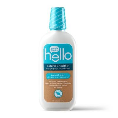 Mouthwash: hello