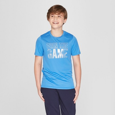 8aa93cf993ad Boys  Graphic Tech T-Shirt Own The Game - C9 Champion®
