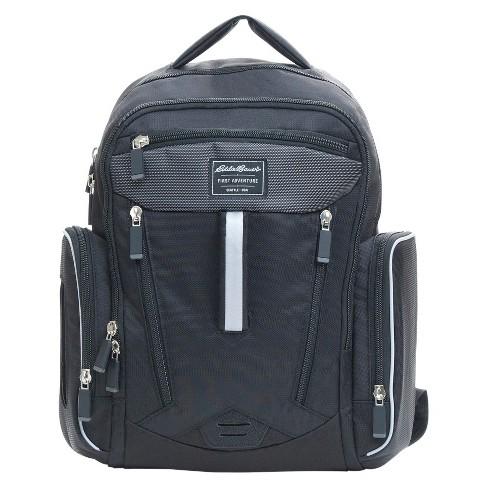 Eddie Bauer Fashion Back Pack Black - image 1 of 4