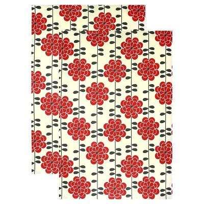 Designer Print Kitchen Towel (Set Of 2)- Mu Kitchen