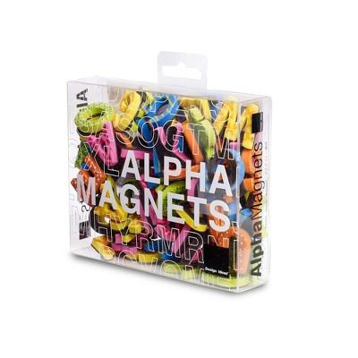 """Design Ideas Magnetic Alphabet Letters – 90 Colorful Foam Letters, 0.8"""" x 0.2"""" 1"""""""