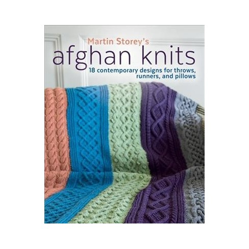 Afghan Knits 18 Contemporary Designs For Throws Runners And
