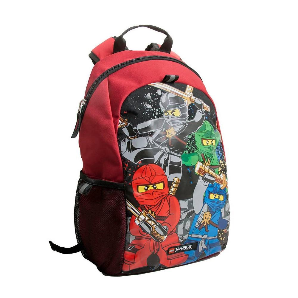 Lego Ninjago Team 16 34 Backpack Black Red