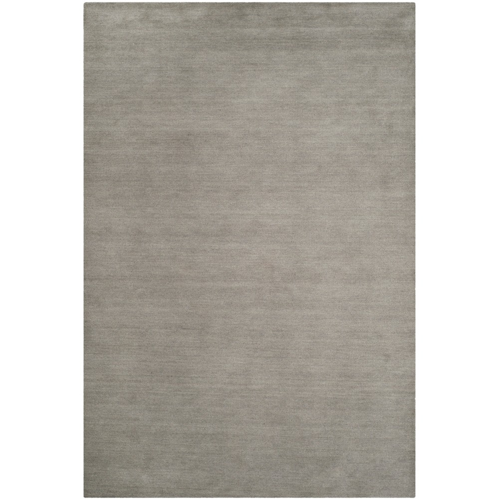 8'X10' Solid Tufted Area Rug Gray - Safavieh