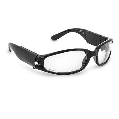 LIGHTSPECS LED Safety Glasses - Black