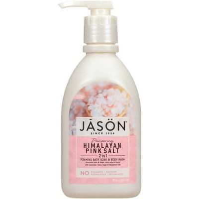 Jason 2-in-1 Foaming Bath Soak and Body Wash Himalayan Pink Salt - 30 fl oz