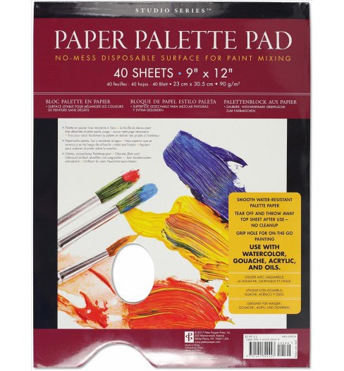 Studio Series Paper Palette Pad (Paperback) - image 1 of 1
