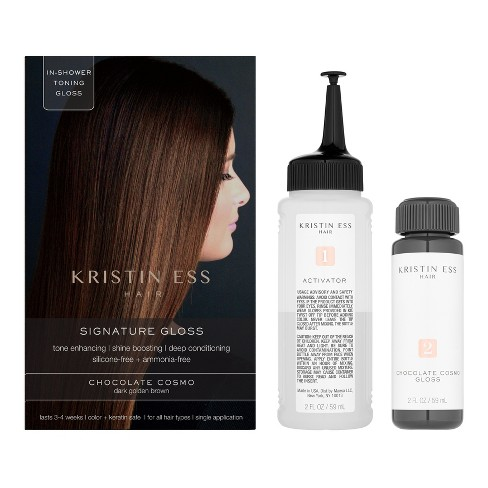 Kristin Ess Hair Signature Gloss Temporary Hair Color Chocolate Cosmo