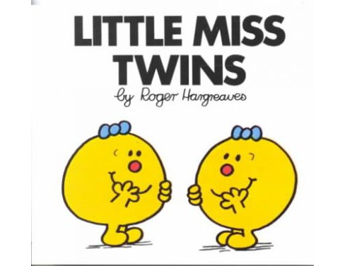 Little Miss Twins (Paperback) (Roger Hargreaves) - image 1 of 1