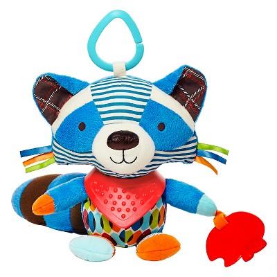 Skip Hop Bandana Buddies Stroller Toy, Raccoon