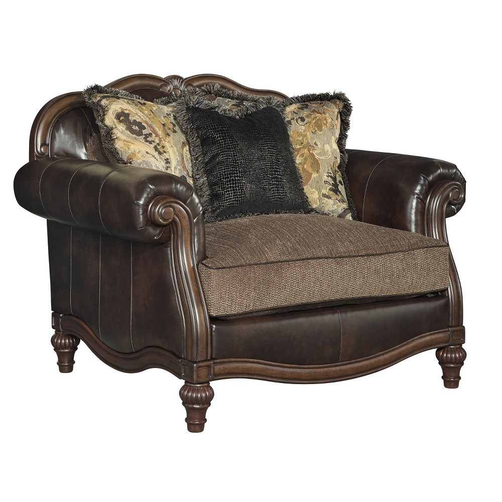Accent Chairs Warm Chocolate - Signature Design by Ashley