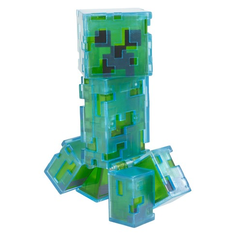 Minecraft Charged Creeper Light-Up Figure - image 1 of 4