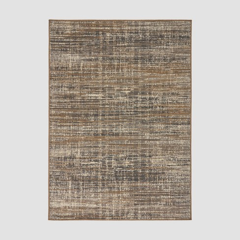 Cortez Contemporary Outdoor Rug Gray/Beige - Christopher Knight Home - image 1 of 5