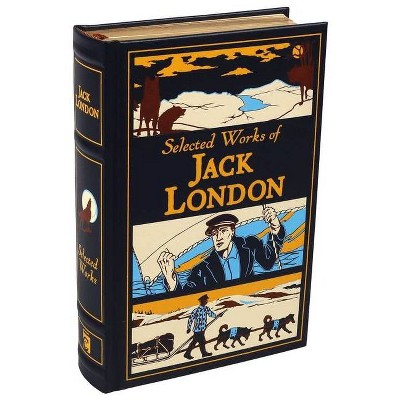 Selected Works of Jack London - (Leather-Bound Classics) (Leather Bound)