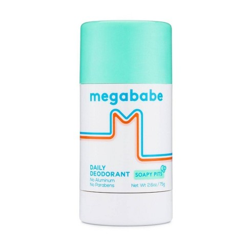 Megababe Soapy Pits Daily Deodorant - 2.6oz - image 1 of 4