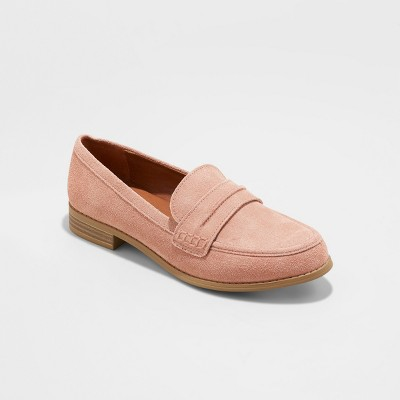 e1436b12e7b Women s Aanmae Suede Closed Back Loafers - Universal Thread™