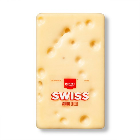 Swiss Natural Cheese - Price Per lb - Market Pantry™ - image 1 of 1