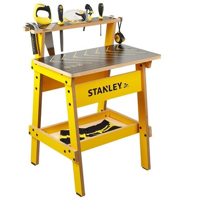 Stanley Jr. Kid's Work Bench and 10-Piece Tool Set