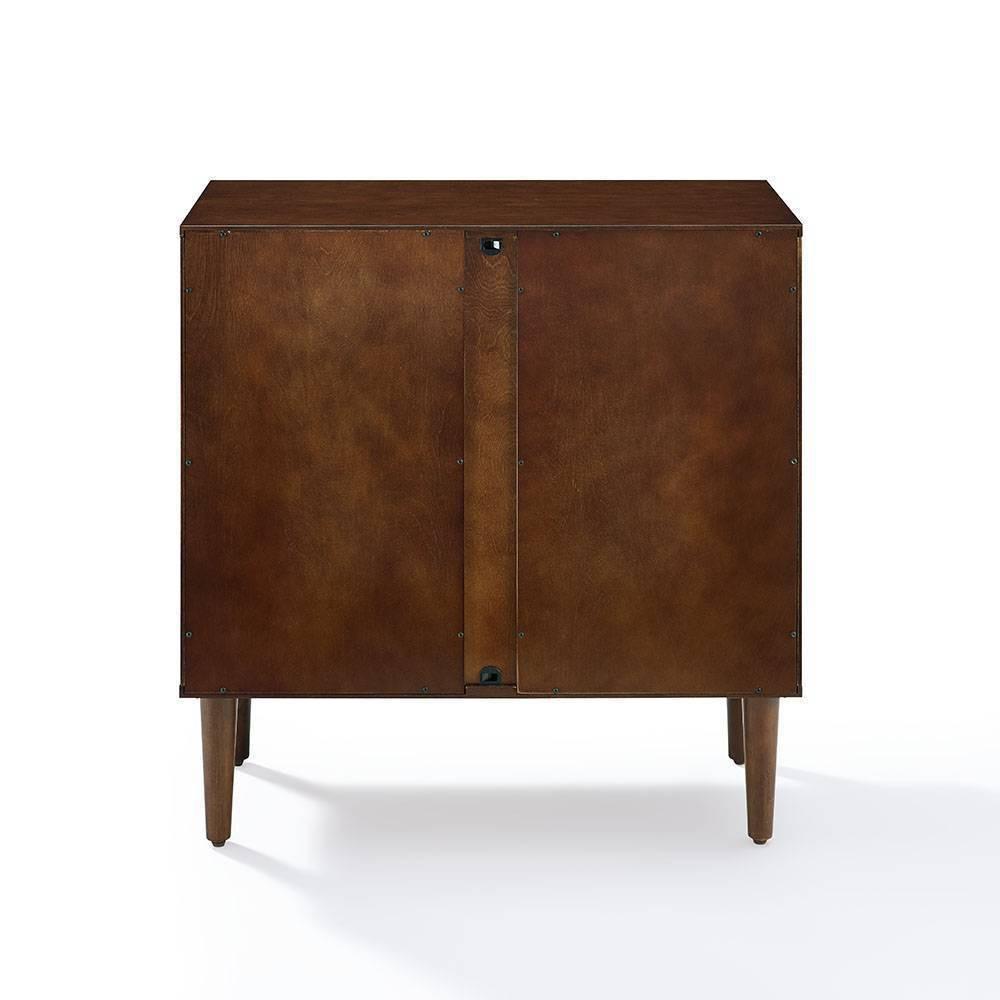 Everett Console Cabinet Mahogany Crosley
