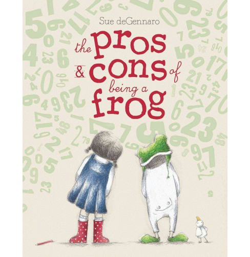 Pros & Cons of Being a Frog (School And Library) (Sue Degennaro) - image 1 of 1