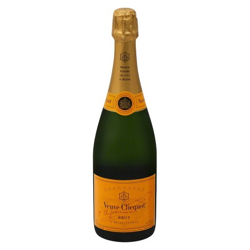 Veuve Cliquot® Brut Champagne - 750mL Bottle - image 1 of 6