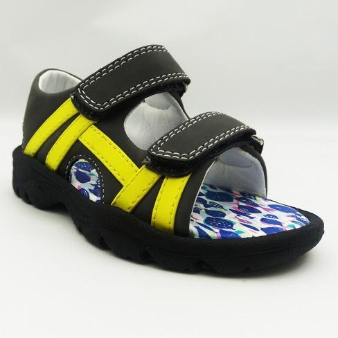 1fb66ec3d Toddler Boys  Brooks Footbed Sandals - Cat   Jack™ Grey   Target